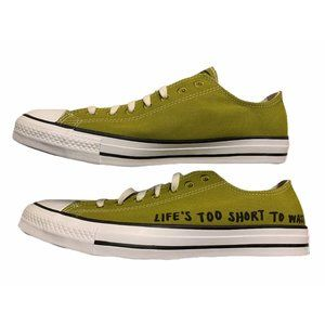 Converse Chuck Taylor All Star Shoes Green 10 New